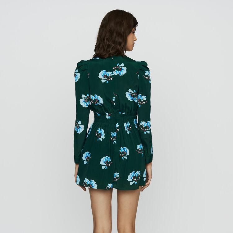Vestido corto estampado floral : Nueva Colección color IMPRIME