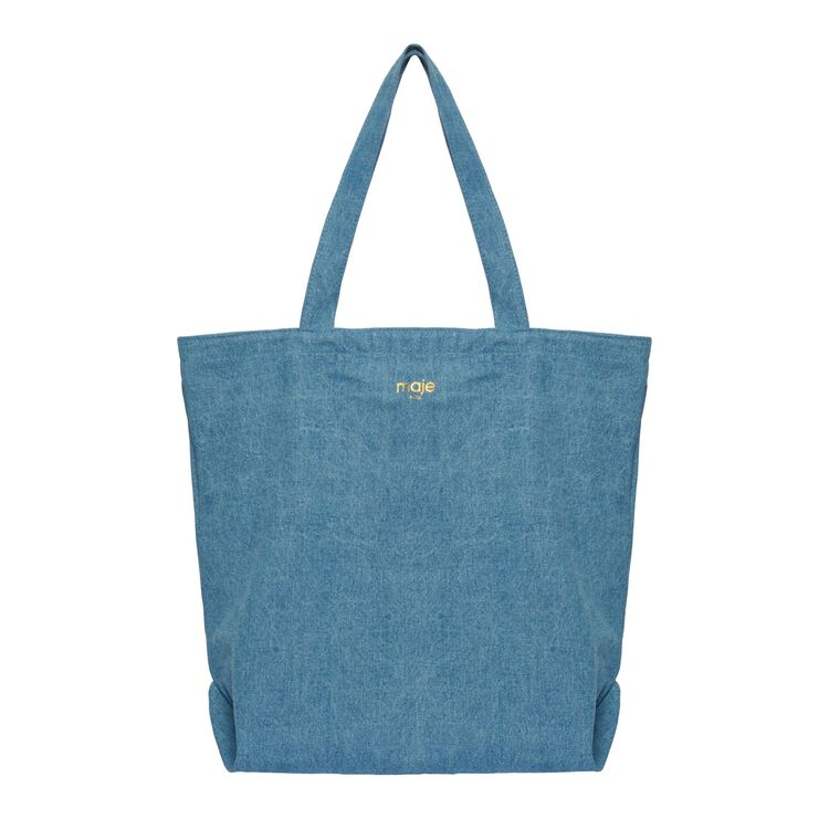 Shopping bag : Gift with purchase color Denim