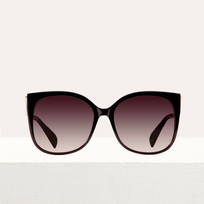 Gafas de sol retro : Gafas color Burdeos