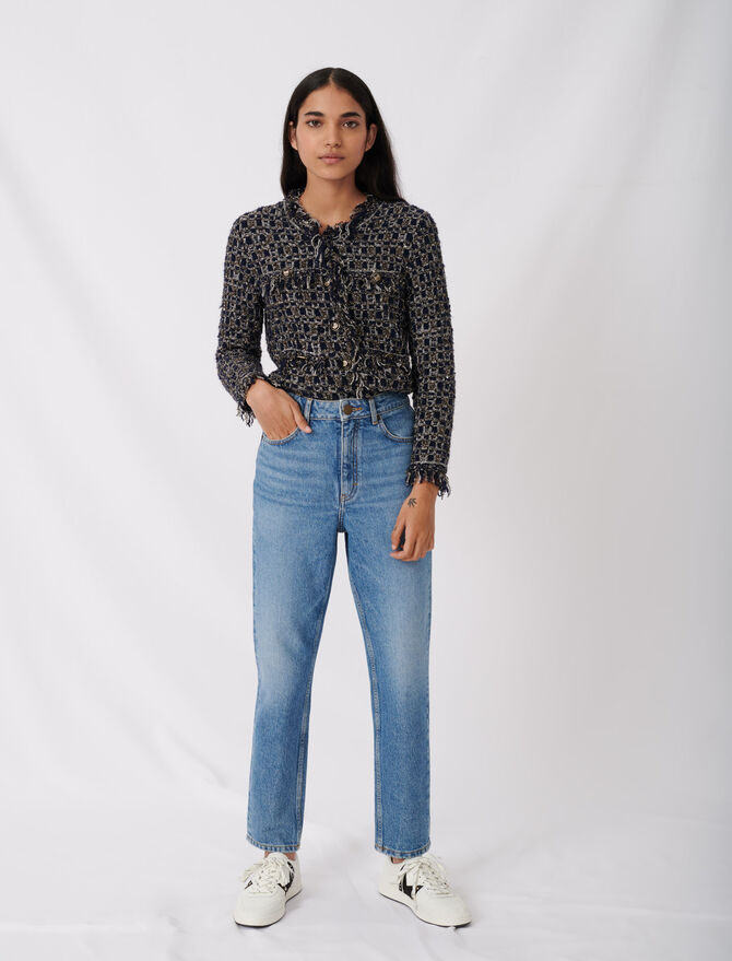 Jean tiro alto - Pantalones y Jeans - MAJE