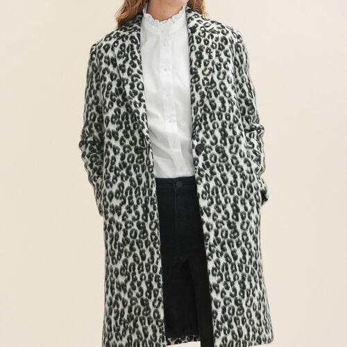 Levita con motivo de leopardo - Abrigos - MAJE