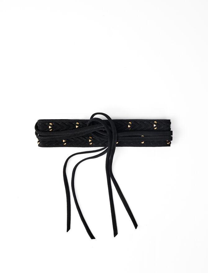 Cinturón tipo fajín anudado -  - MAJE