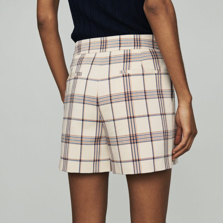 Short de cuadros : Faldas y shorts color CARREAUX