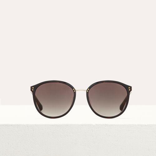 Gafas de sol en acetato y metal : Gafas color Rosa