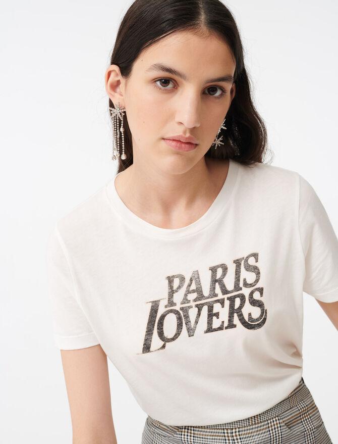 Camiseta estampada -  - MAJE