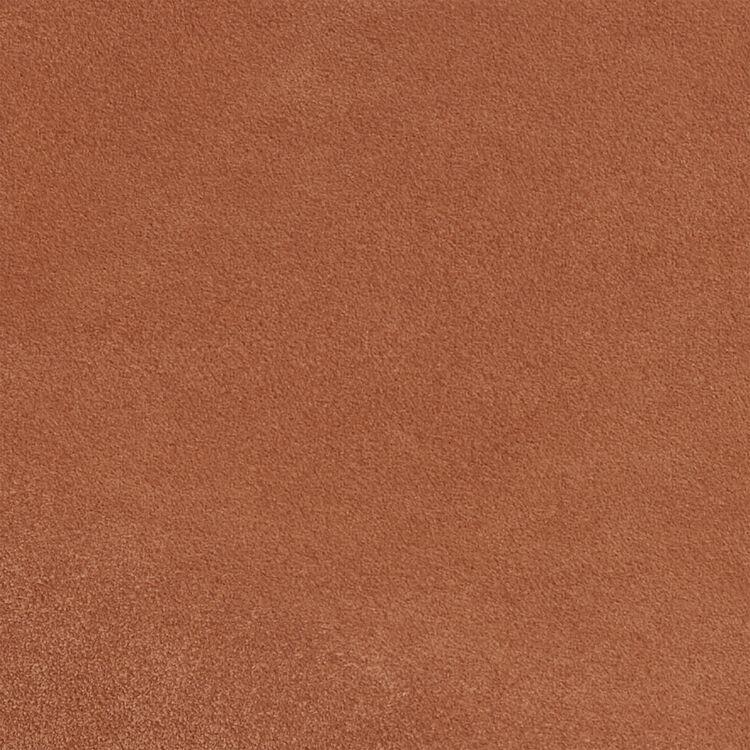Cesto de cuero con flecos : Otras M color Camel