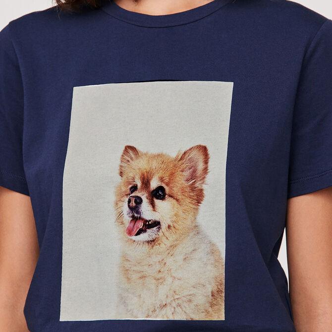 Camiseta estampada - Ver todo - MAJE