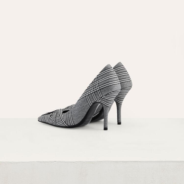 Zapato de salón principe de Galles : Office girl color CARREAUX