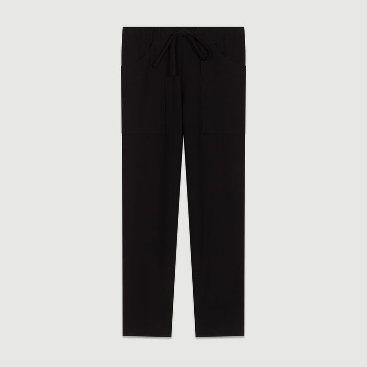 Short 2 en 1 Jacquard : Pantalones color Azul Marino