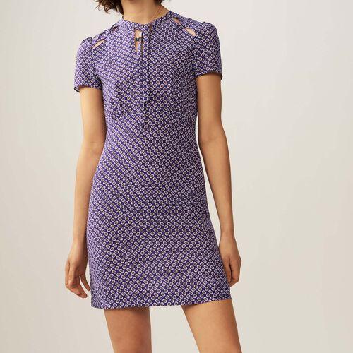 Printed silk dress : Vestidos color IMPRIME