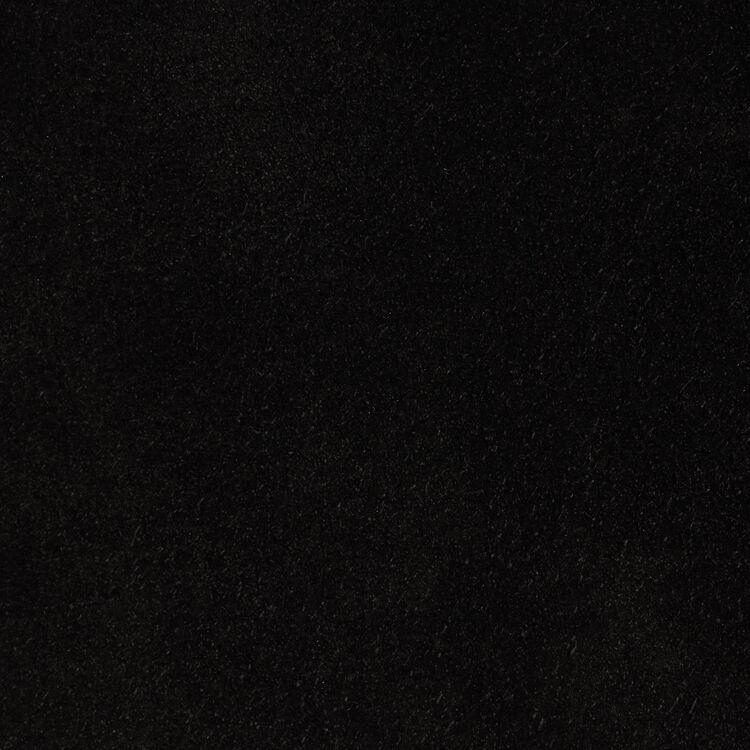 Cesto gamuza con flecos : Otras M color Negro
