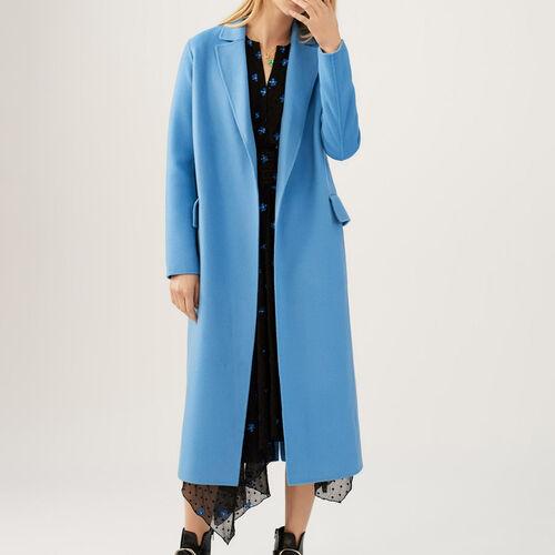 Abrigo largo dóble faz : Abrigos color Azul Marino