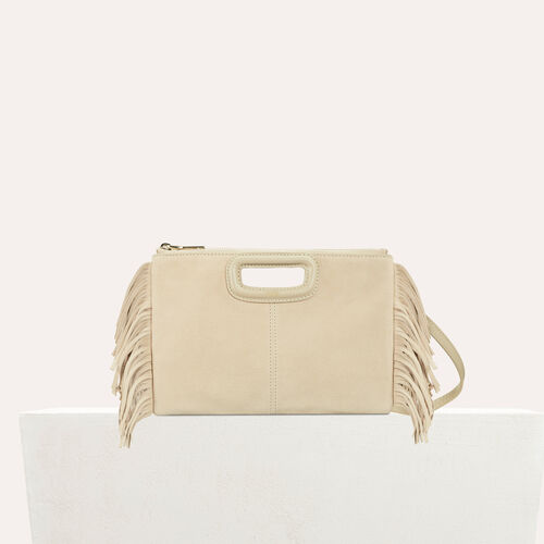 Cartera M Duo en gamuza : M Duo color Beige