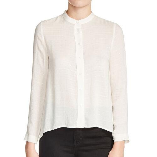 Blusa con nudo de espalda : Precios Bajos color Crudo