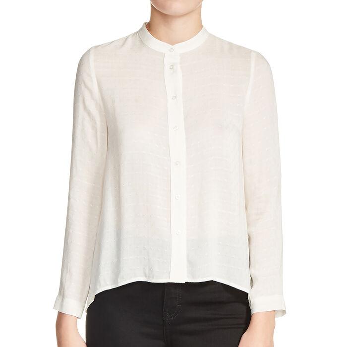 Blusa con nudo de espalda : En exclusividad color Crudo