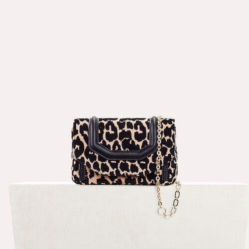 Bolso de noche estampado de leopardo : Black friday color IMPRIME