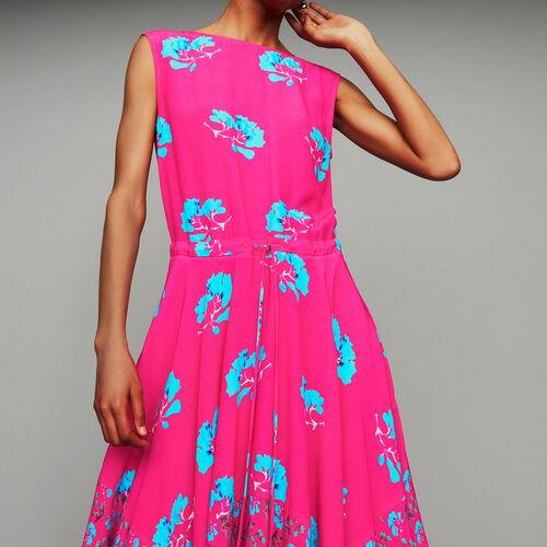 Vestido largo sin mangas estampado : Prêt-à-porter color IMPRIME