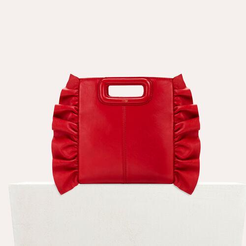 Bolso M con volantes : Bolsas M color Rojo