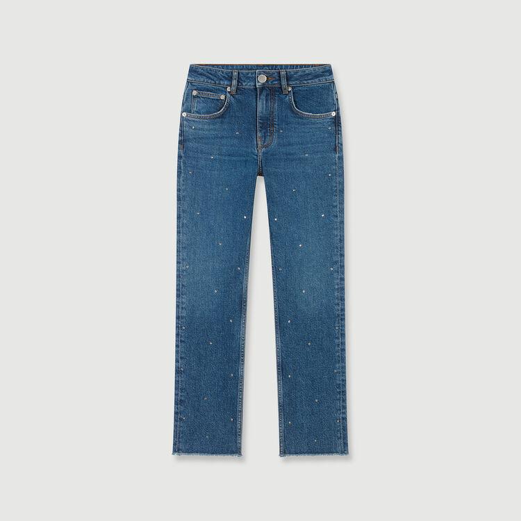 Jean en strass : Pantalones y Jeans color Azul