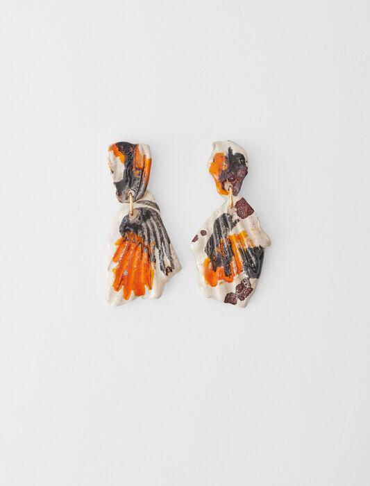 Pendientes de cerámica : Bisuteria color Multicolor