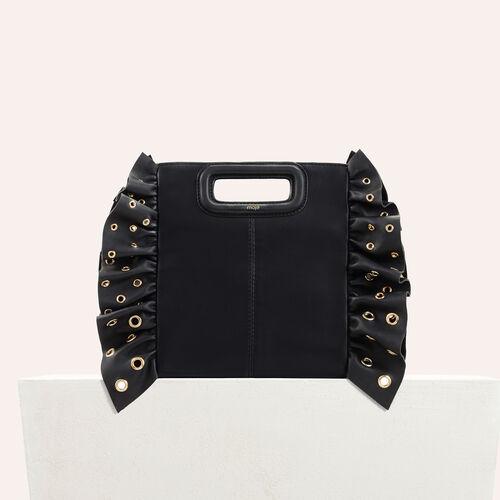 M Tasche mit Rüschen : Voir tout color Negro