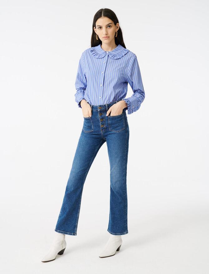 Vaquero con bolsillos - Pantalones y Jeans - MAJE
