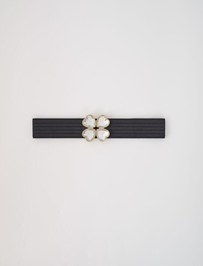 Cinturón elástico con cierre joya - Cinturones - MAJE