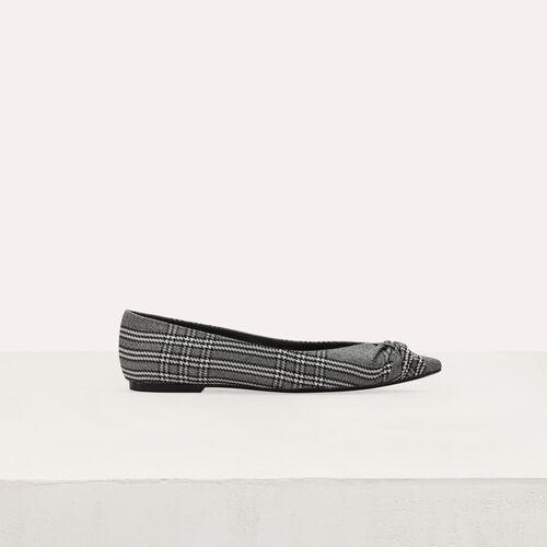 Zapatos de salón planos : Tartan color CARREAUX