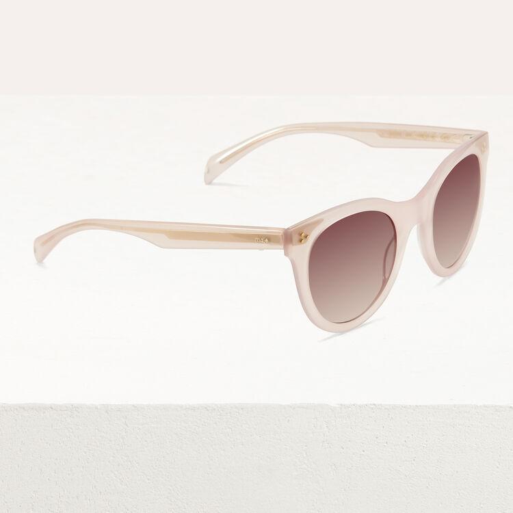 Gafas de sol de acetato : Gafas color Rosa