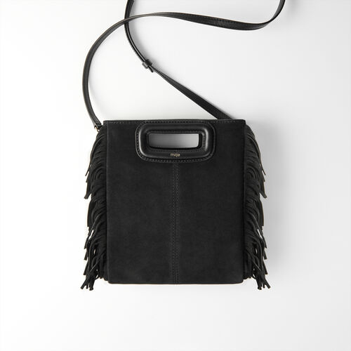 Bolso M de gamuza : Todas las bolsas color Negro