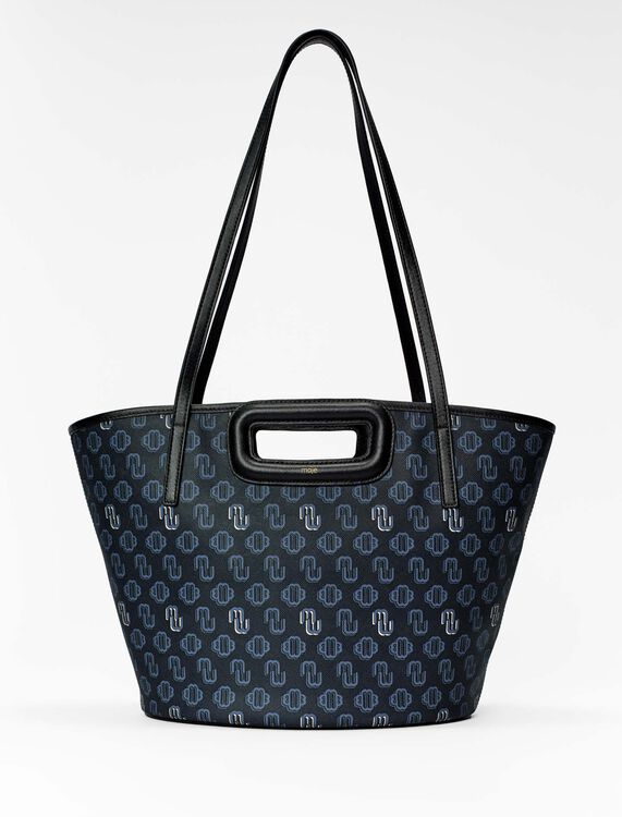 Shopper M de lona con trébol - Nueva colección - MAJE