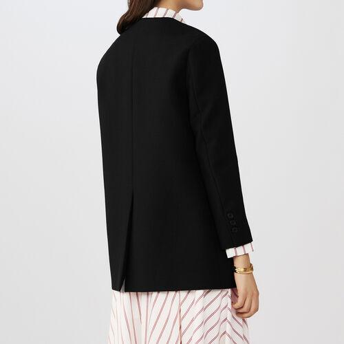 Blazer kimono collar : Chaquetas color Negro