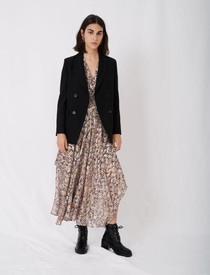 Buttoned suit jacket - Chaquetas - MAJE