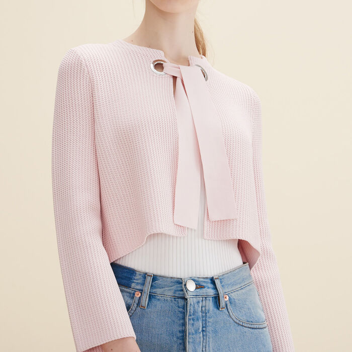 Cárdigan corto - Sweaters & Cardigans - MAJE
