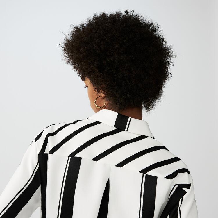 Vestido camisero de rayas : Colección verano color Rayas