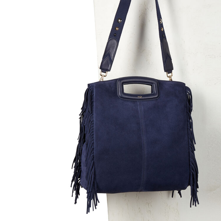 Bolso de ante con flecos : The M color