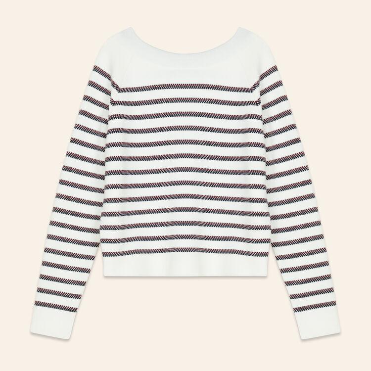 Jersey marinero de mezcla de lana : Jerseys y cárdigans color Crudo