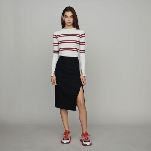 Falda lapiz : Faldas y shorts color Negro