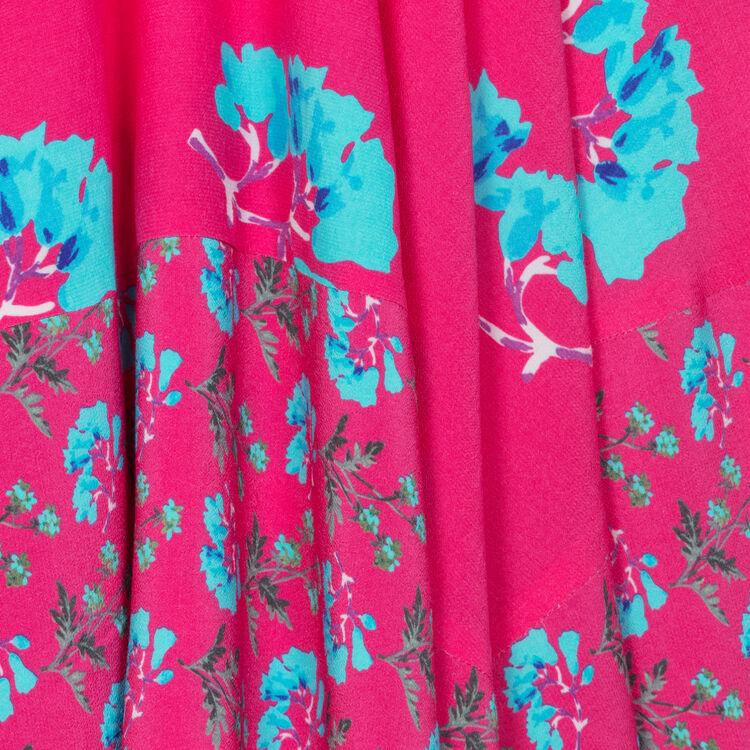 Vestido largo sin mangas estampado : Vestidos color IMPRIME