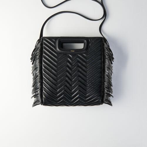 Bolso M Mini de cuero acolchado : Bolsos M color Negro