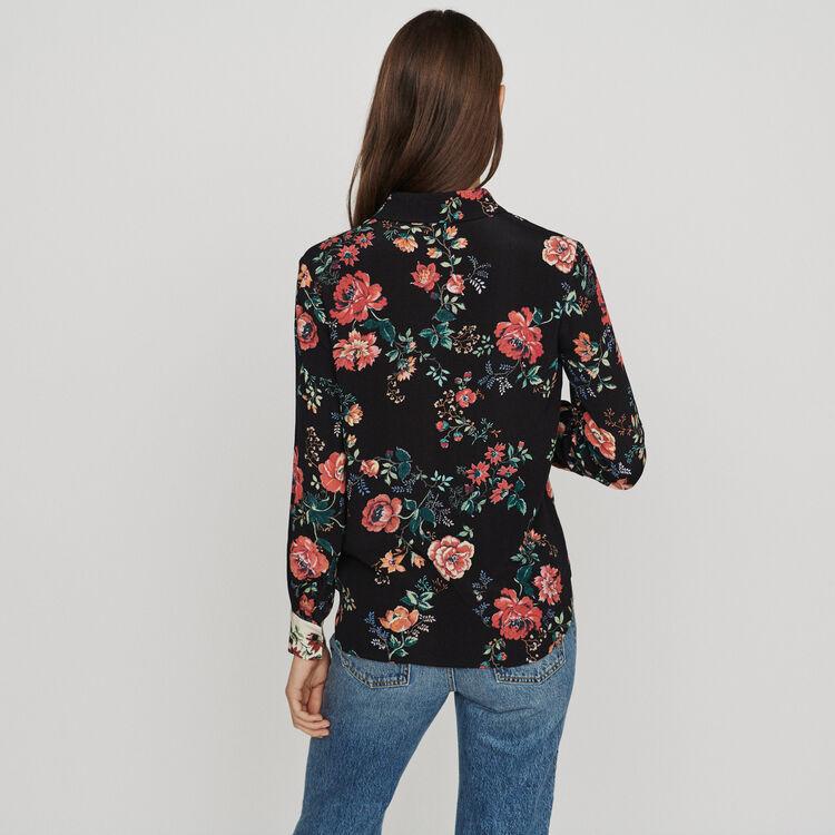 Blusa estampado tipo patchwork : Tops y Camisas color IMPRIME