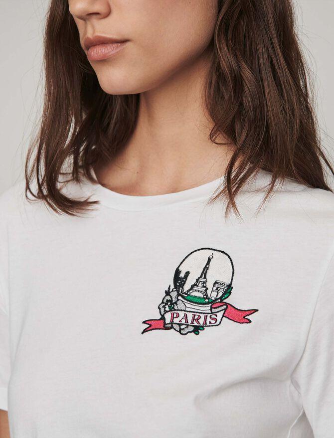 Camiseta bordada - Pequeñas atenciones - MAJE