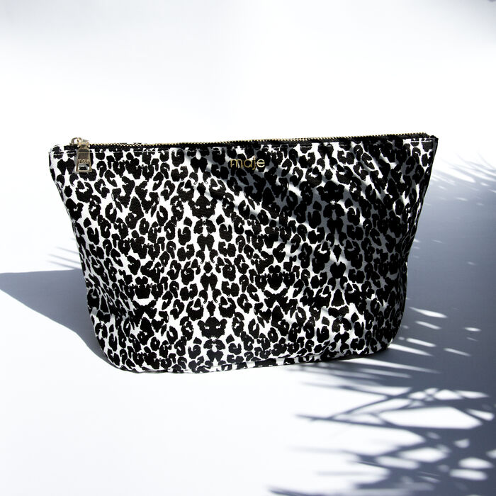 Bolso neceser : Gift with purchase color Blanco/Negro