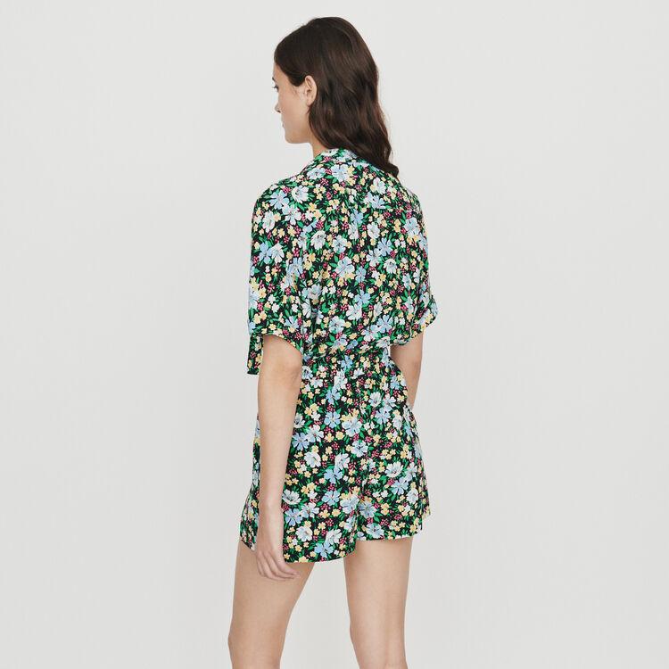 Combi short estampado floral : Faldas y shorts color IMPRIME