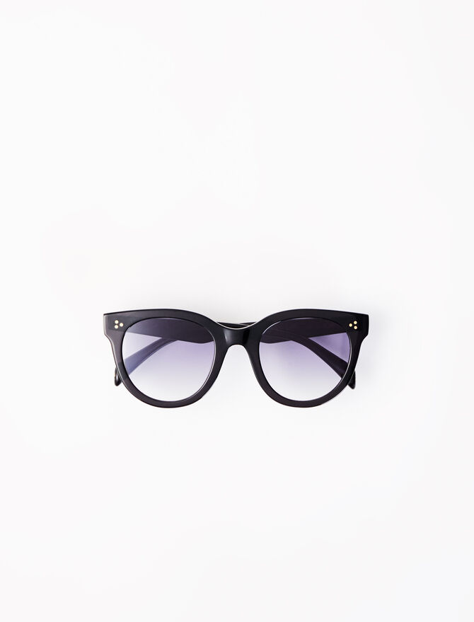 Gafas de sol redondas de acetato -  - MAJE