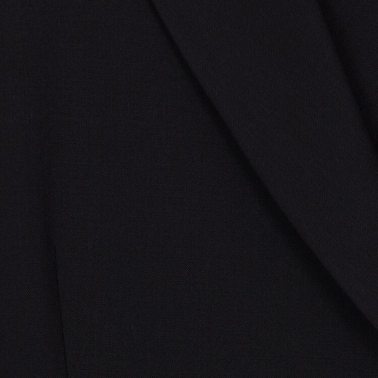 Vestido-blazer de lana mezclada : Vestidos color Negro