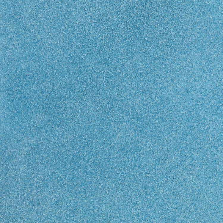Bolso M de gamuza : Piel color Azul