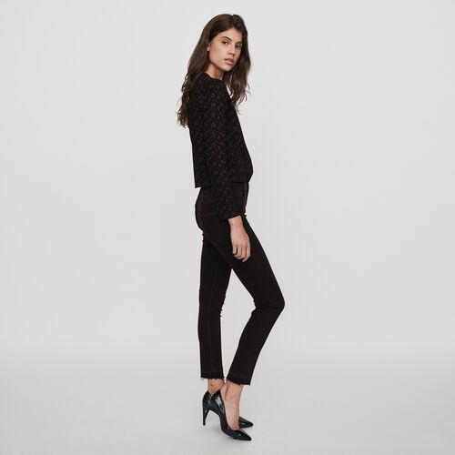Jean slim básico : Colección invierno color Antracita