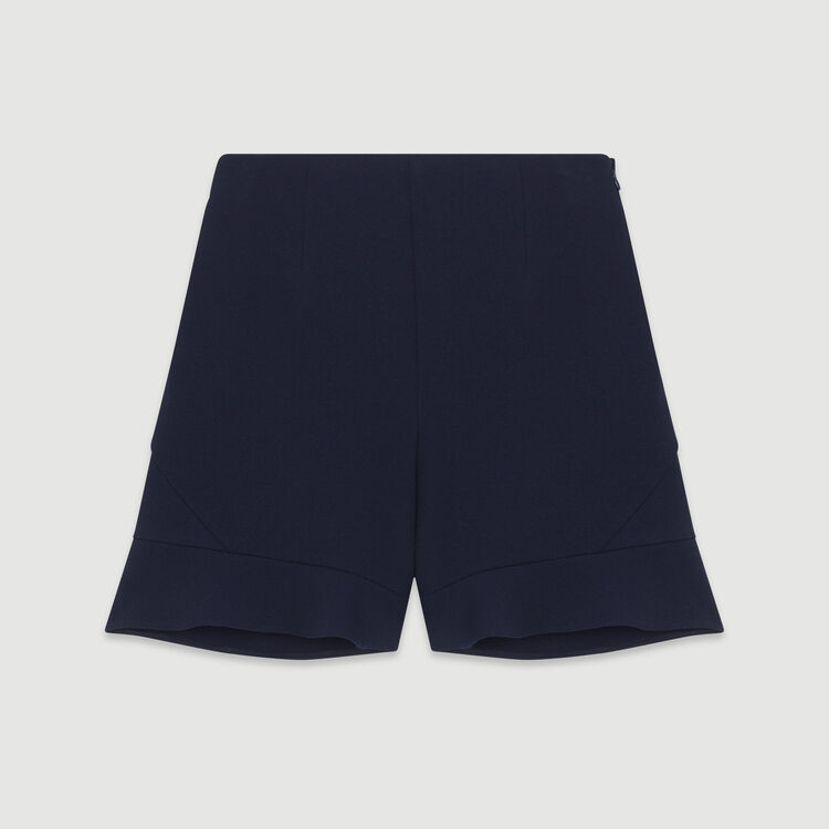 Short con volantes : Faldas y shorts color Azul Marino