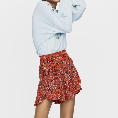 Short estampado a volantes : Faldas y shorts color IMPRIME